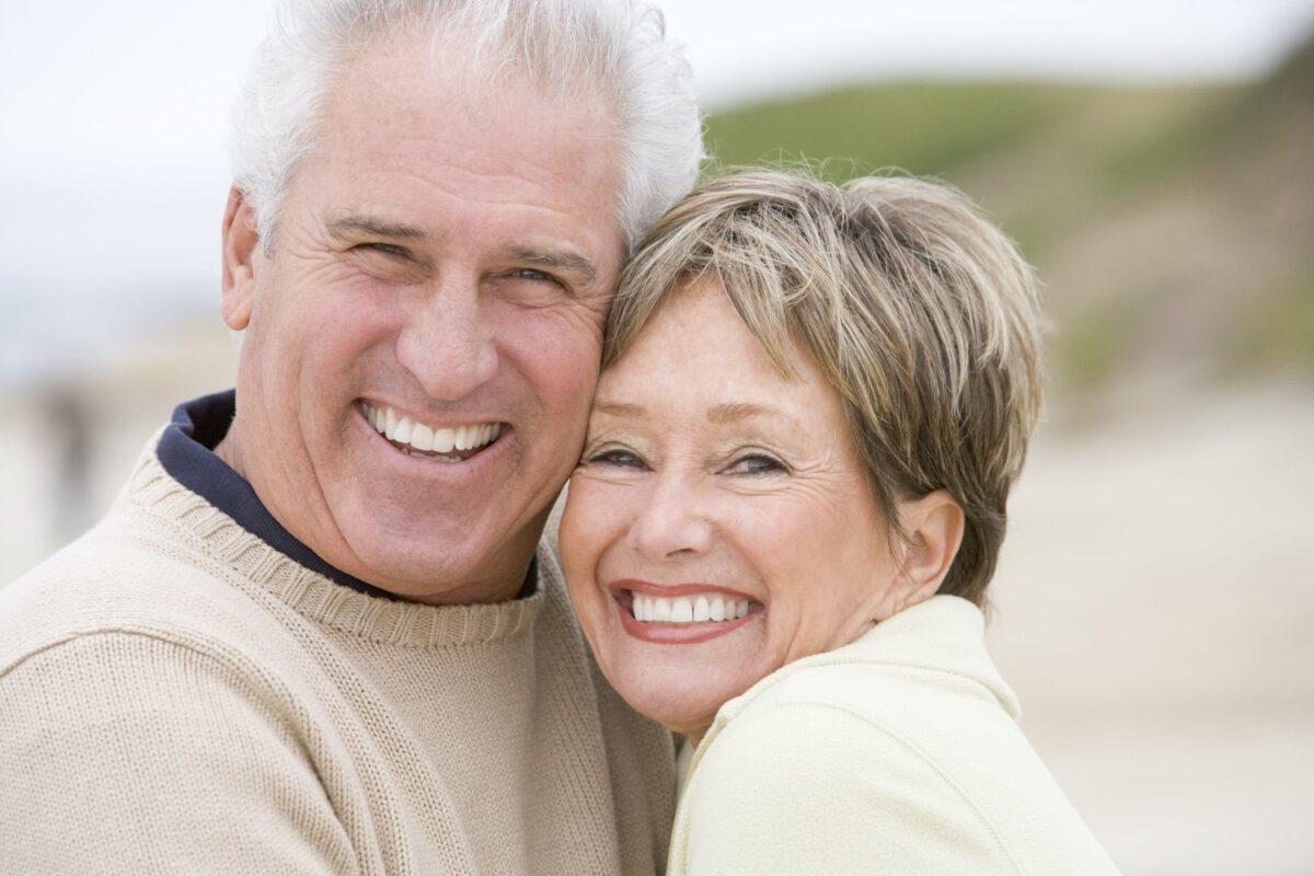 Smiling Senior Couple photo